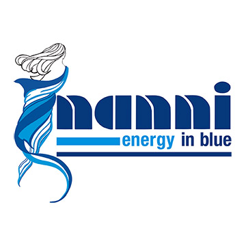 Logo Nanni Energy In Blue